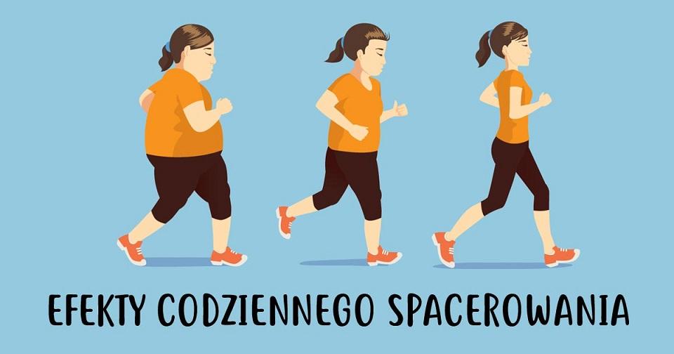 efekty codziennego chodzenia